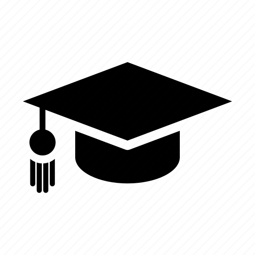 education, graduation, knowledge, school, student, study, university icon