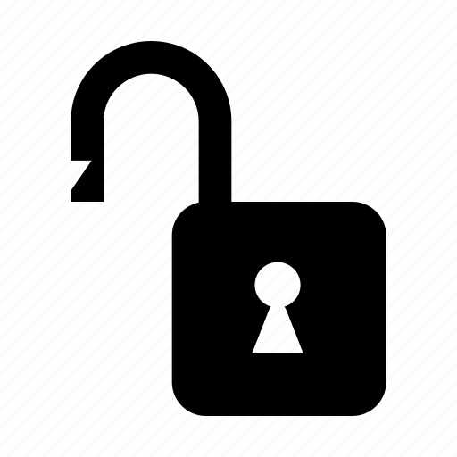access, lock, padlock, safety, security, unlock, unlocked icon
