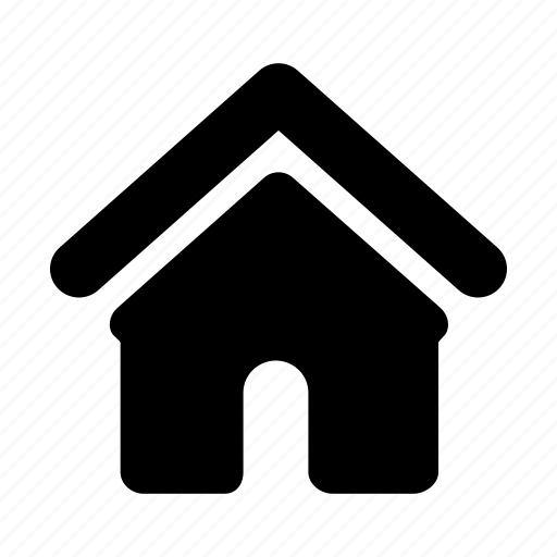 apartment, home, house, hut, property, real, villa icon
