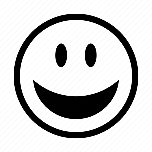 emoji, emoticons, emotion, happy, lol, smile, smiley icon
