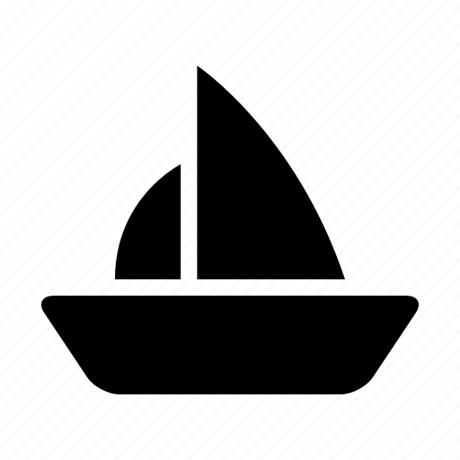 boat, sail, sailing, ship, shipping, travel, yacht icon