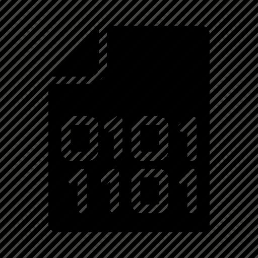 coding, document, files, programming, script icon