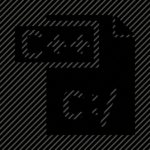 c, coding, document, file, programming icon