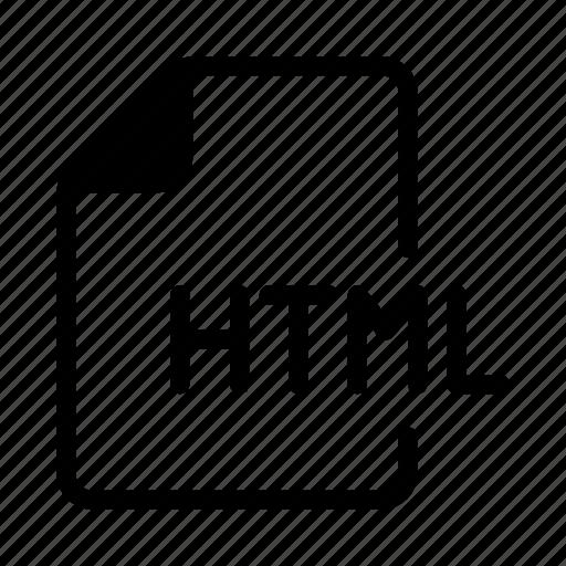 coding, fils, html, programming, script icon