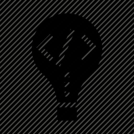 bulb, coding, creativity, idea, programming icon