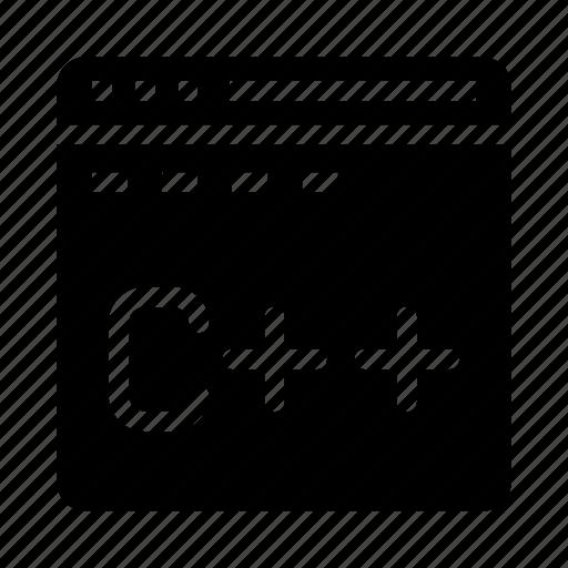 c, coding, internet, programming, webpage icon