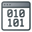 app, application, binary, code, window icon