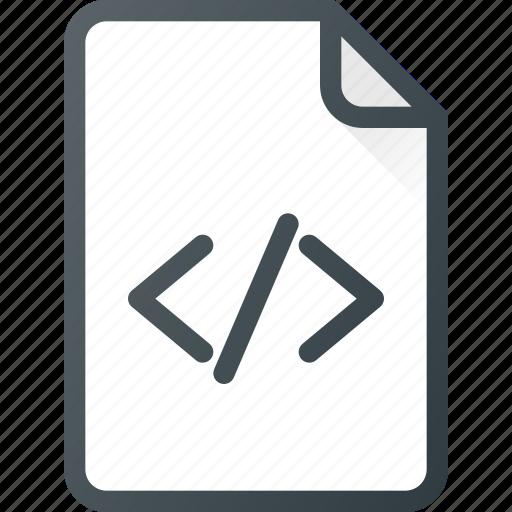 Development, code, file, programing icon