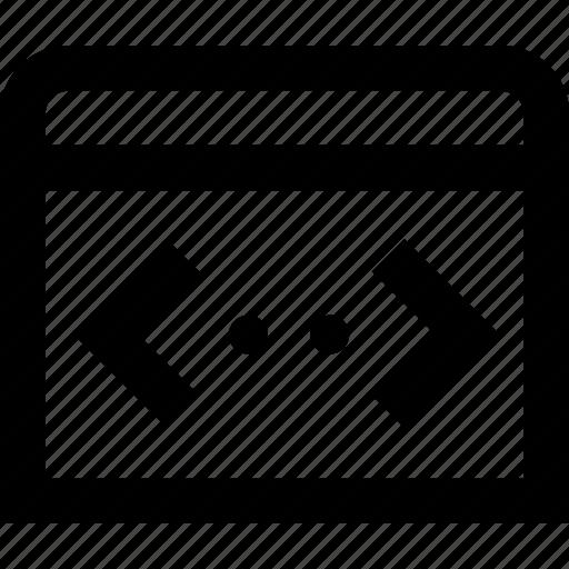 code, coding, development, programming icon