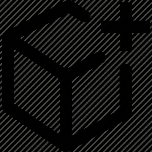 add, coding, development, object icon