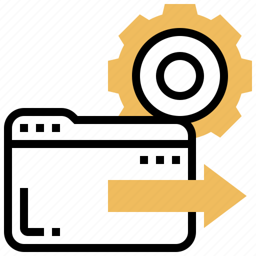access, data, directory, files, folder icon