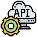 api, application, connection, interface, software