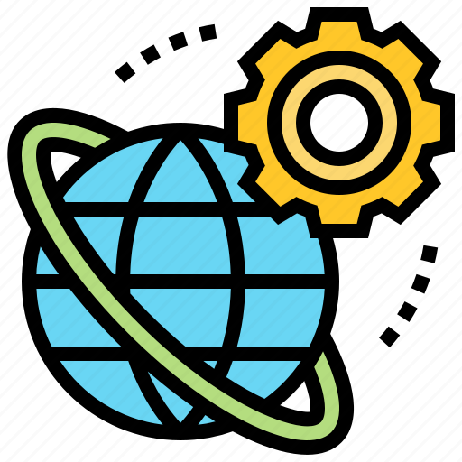 browser, connection, global, network, window icon