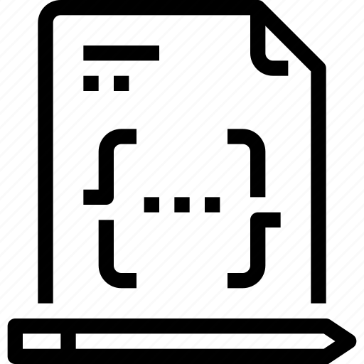 code, coding, developer, development, document, paper, prgramming icon