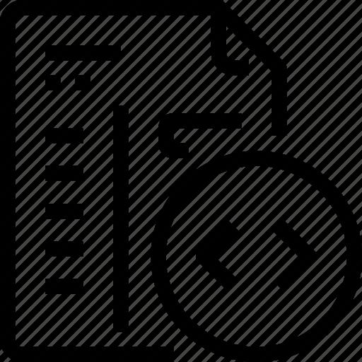 code, coding, document, evelopment, file, paper icon