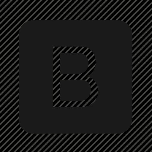b, developer, logo, programing, programming, tools icon