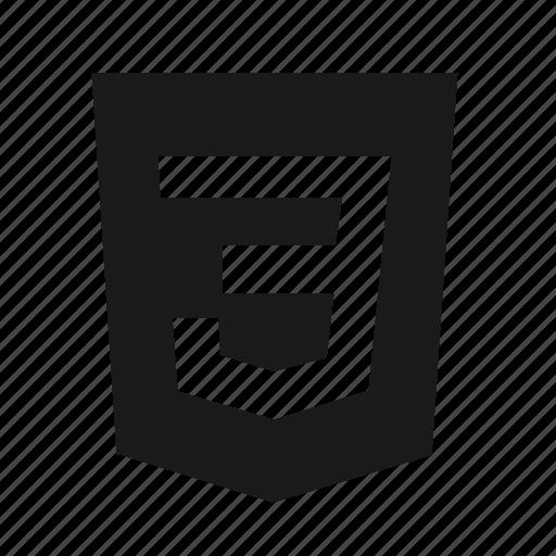 css, css3, developer, logo, programing, programming, website icon