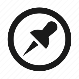 circle, developer, pin, programing, programming, repin, social icon