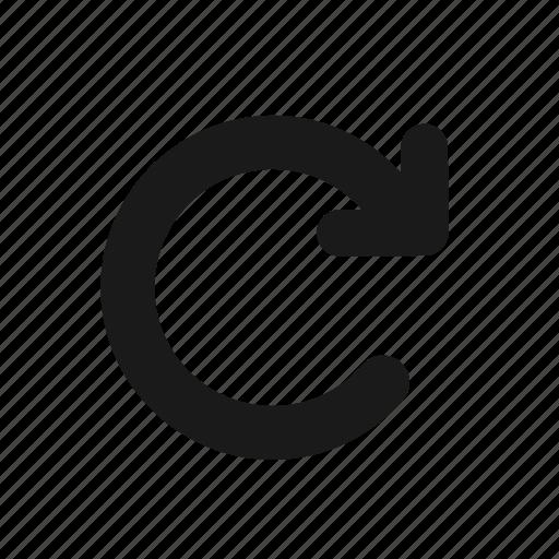 arrow, circle, developer, programing, programming, refresh icon
