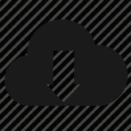 cloud, developer, download, guardar, programing, programming, save, services icon