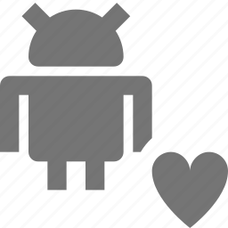 android, favorite, heart, like icon