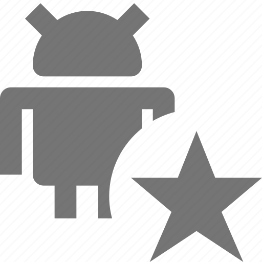 android, favorite, star icon