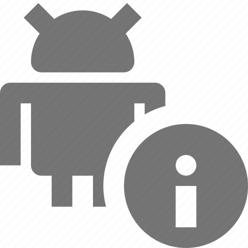 android, information icon