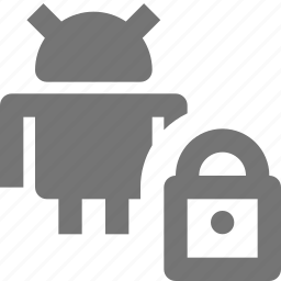 android, lock, security icon