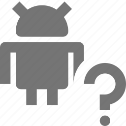 android, help, question icon