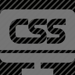 css, programming icon