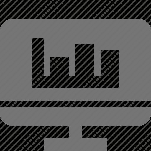 graph, programming icon