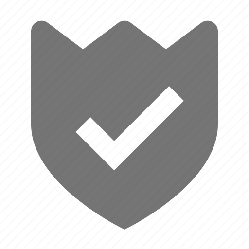 check, security, select, shield icon
