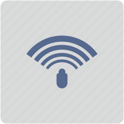 alarm, form, router, security, signal, wifi icon