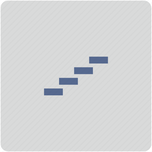 career, form, stairs, step icon