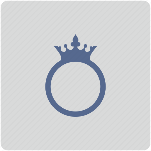 crown, form, lord, ring, royal icon