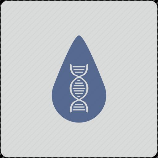 biometry, blood, dna, drop, form, saliva icon