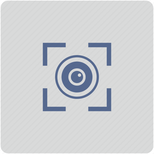 biometry, detect, eye, form, scan icon