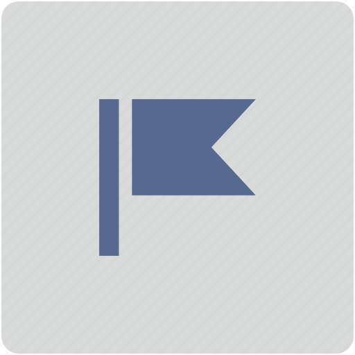 flag, form, pointer icon