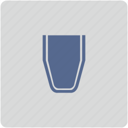 form, full, glass, water icon