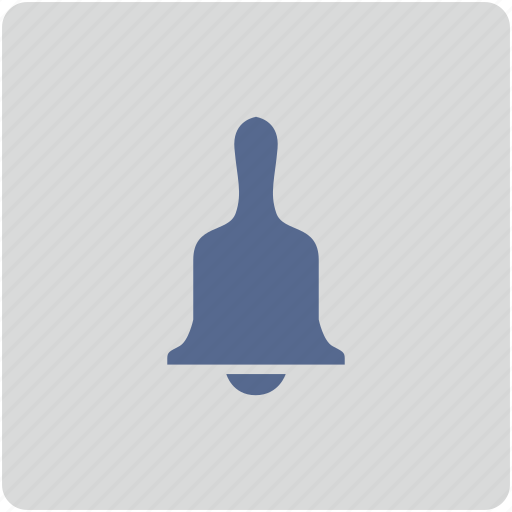 alarm, bell, form, hand, ring icon