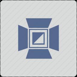 form, lamp, light, lighting icon