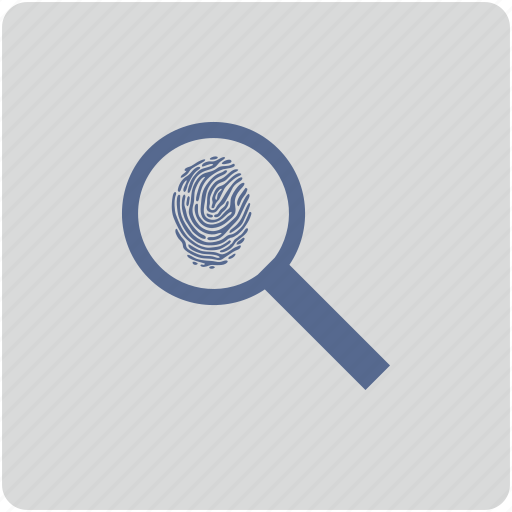 biometry, find, finger, form, scan icon