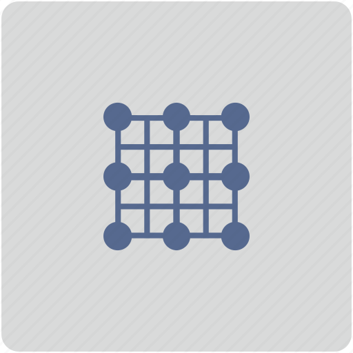 form, grid, image, picture, transform icon
