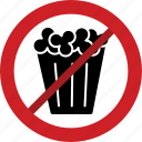 prohibited, fries now allowed, stop, fried snacks, snacks, forbidden icon
