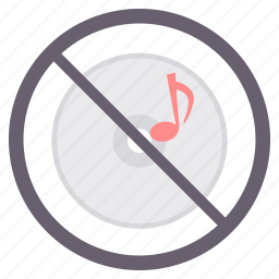 no audio, no music, no sound, prohibited icon