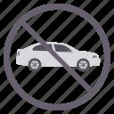 driving, no car, no driving, no entry, prohibited