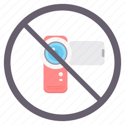 no camera, no cctv, no photography, photography, prohibited icon
