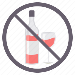 avoid, drink, no alchohal, no drinking, prohibited icon