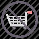 avoid, close, no, no shopping, shop