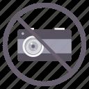 camera, no camera, photography, prohibited
